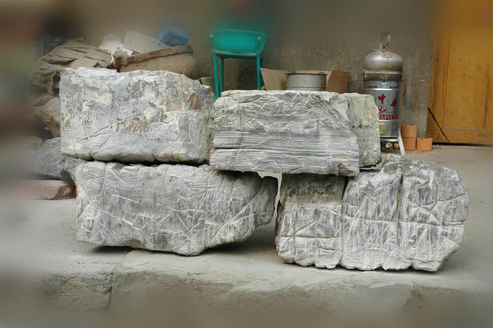 供应园林石 方形自然石头
