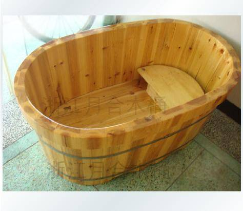 儿童木质浴桶木制浴盆