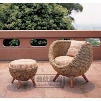 圆藤椅,圆形藤椅,休闲椅