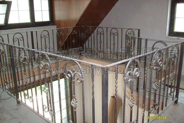 不锈钢栏杆,金属栏杆,镀钛楼梯扶手