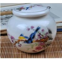 景德镇茶叶罐设计公司 景德镇陶瓷茶叶罐 陶瓷茶叶罐市场