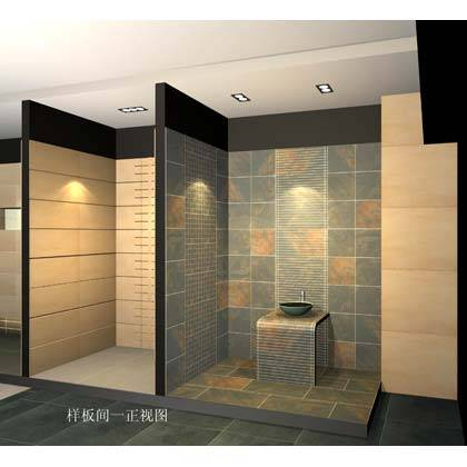 南京陶瓷-世域装饰建材-欧古砖陶瓷-展厅效果图6
