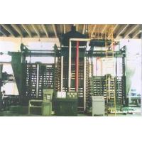 免烧砖复合木塑托板生产线,热压法生产木塑复合模板设备