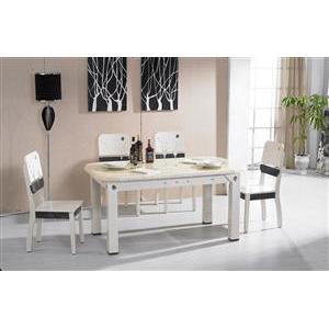成都恒源·美軒現代板式餐桌椅