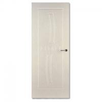 PVC免漆复合平雕门