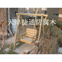 户外木坐凳