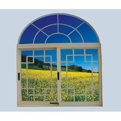 成都京成门窗-80推拉窗-塑钢窗