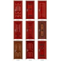 现货供应美的佳1001款钢质室内门钢套门量大款式多