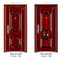浙江永康美的佳优质钢质门防盗门钢质进户门