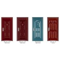 现货供应5公分低价钢质门小王子金属漆钢质进户门工程门