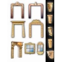 北京别墅装修门窗门套雕塑制作