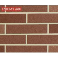 供应ROOMY洛美高档柔性红砖批涂工艺T1805