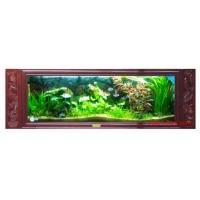 供应浮阳免换水鱼缸 壁挂式鱼缸 壁挂鱼缸 生态水族壁画