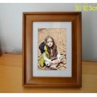 大兴宽边欧式实木相框7寸褐色3020系列欧式相框