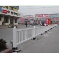 供应渲润彩色铝合金高强度道路隔离护栏