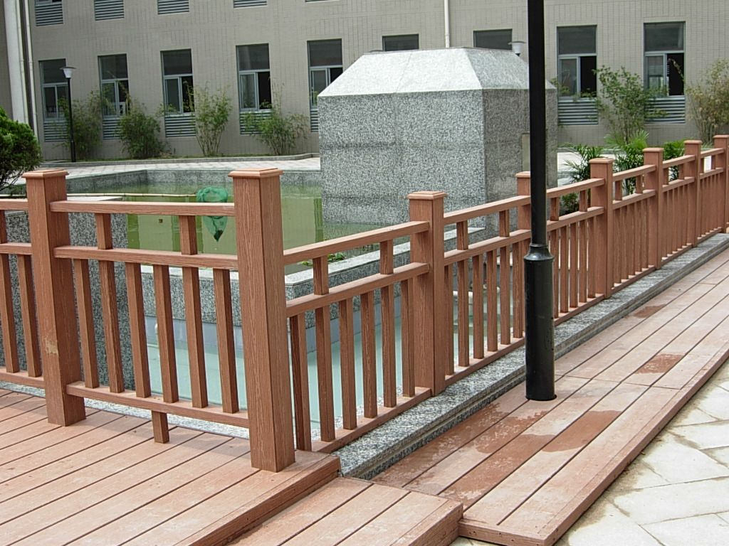 木塑地板材料,塑木地板型材