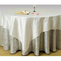 台布、口布台裙椅套会议台绒等高档酒店布草和各种纺织装饰面料.