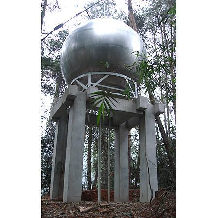 成都不�P�球形水箱制作