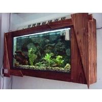 红原木式水族箱
