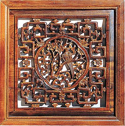 中国古代窗户矢量图