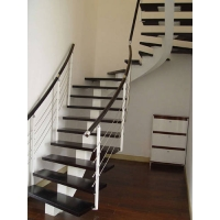 钢木楼梯-诗汇木业