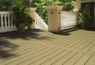 无铅环保高品质微发泡硬质PVC防腐户外地板