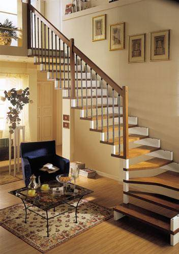 艺极楼梯-产品效果图