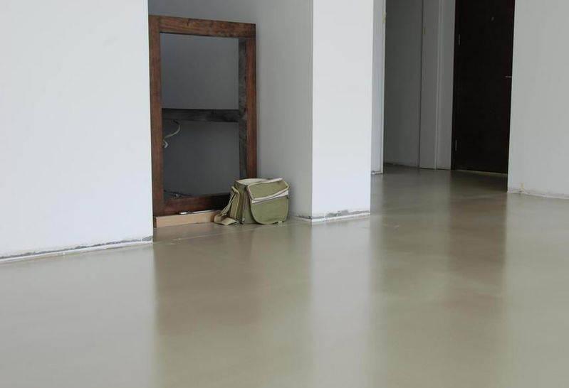环保装修新选择-地面-彩色水泥基自流平材料