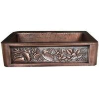 供应弘德铜盆,铜水槽1633-H
