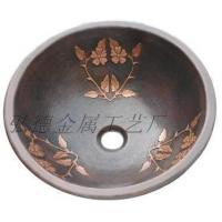 供应弘德铜盆1288-FL