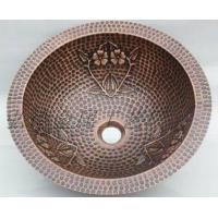 传统纯手工制作(弘德)铜盆