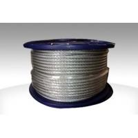 供應大量優質鋼絲繩 鍍鋅鋼絲繩