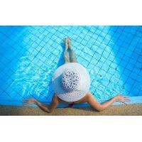 专业泳池拼图水晶马赛克 订做蓝色水晶马赛克