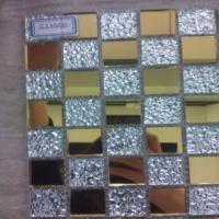 高品质金镜马赛克 镜面马赛克生产酒店装饰