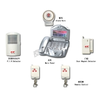 夜狼YL-007T 豪华电话机型无线报警系统/防盗器/报警器/安防产品