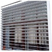 手调铝合金中空平板百叶窗
