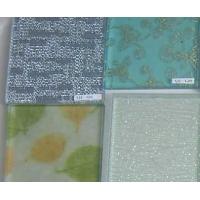 夹绢玻璃 夹丝玻璃 夹大理石纸玻璃(图)
