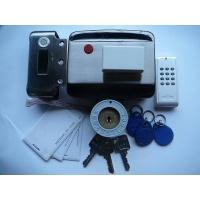 智能静音电机锁TL80C3(双刷卡、大型容量)