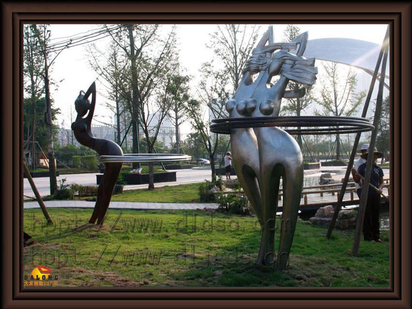 不锈钢雕塑产品图片,不锈钢雕塑产品相册 - 重庆大龙