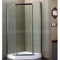 钻石型转轴平开门淋浴房