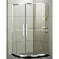 卡帝莎DL扇形带置物架淋浴房