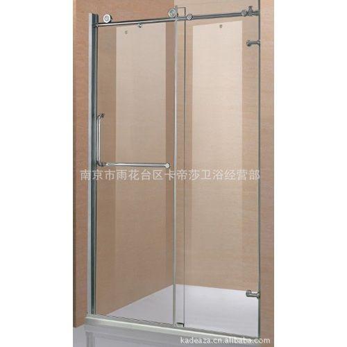 雷竞技最新版莎精品不锈钢一固一移淋浴隔断