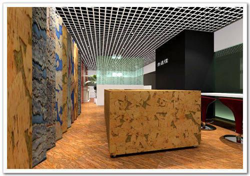 耐適佳軟木地板專賣店展廳效果圖