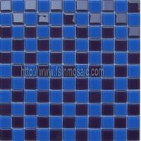 供应水晶马赛克 艺术玻璃马赛克 游泳池瓷砖
