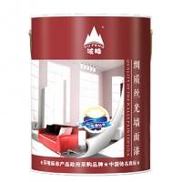 中国驰名商标品牌-域峰绸质丝光内墙漆