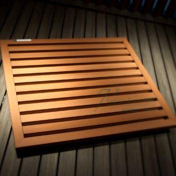生态木格栅吊顶产品图片