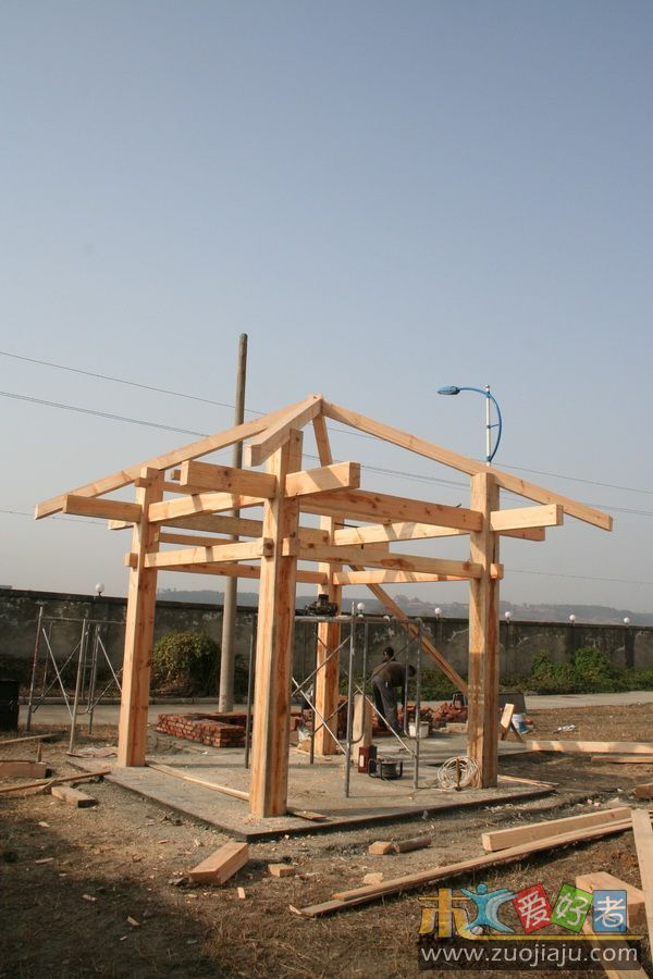 承接户外景观设计及安装工程 - 南京大方园木材加工厂
