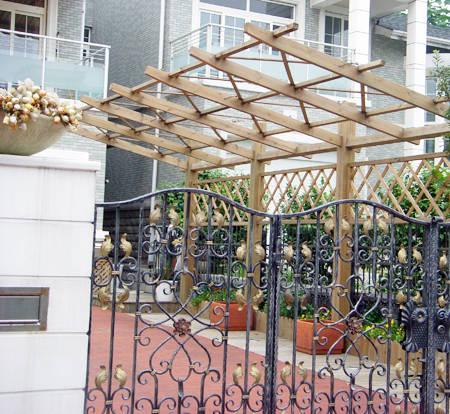 南京防腐木廊架
