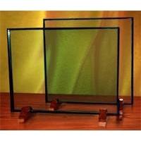 透明涂膜隔热玻璃