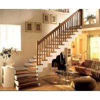 成都升泰-积木式实木楼梯